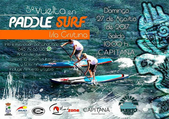 5º Vuelta en Paddle Surf de Isla Cristina