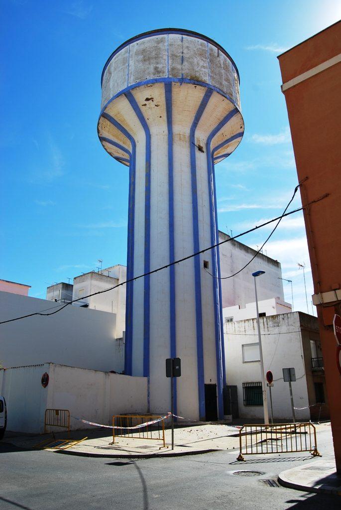 Se arreglara y pintará el antiguo depósito del agua de Isla Cristina