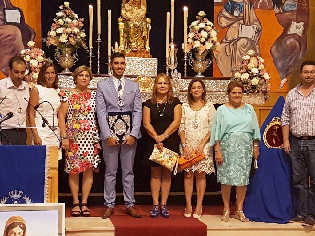 El isleño Manuel Ramos pregonó las Fiestas en Honor a la Virgen del Mar