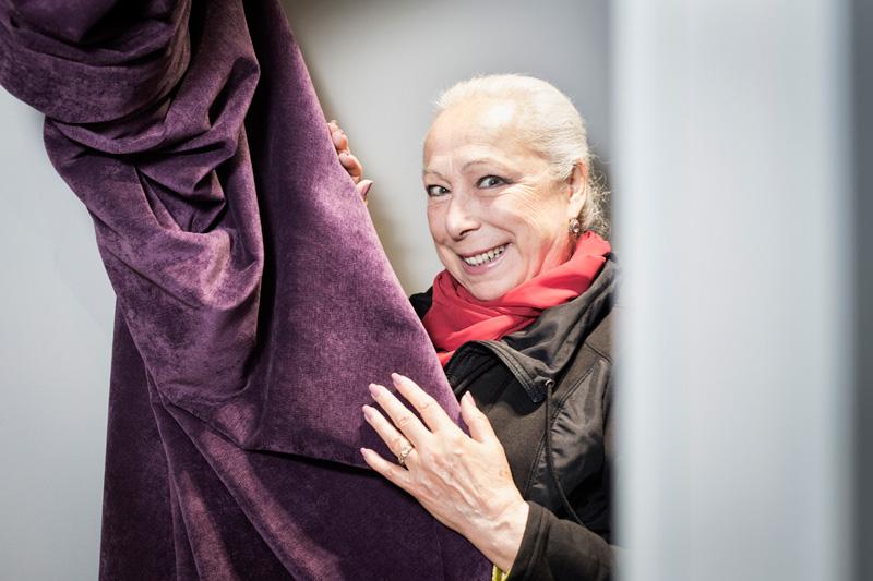 Inauguración de la Estrella de Cristina Hoyos en el Paseo de la Fama de Islantilla