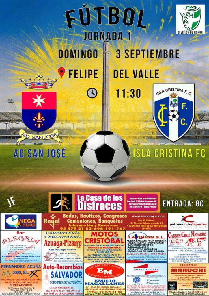 El Isla Cristina debuta en División de Honor Andaluza ante el San José