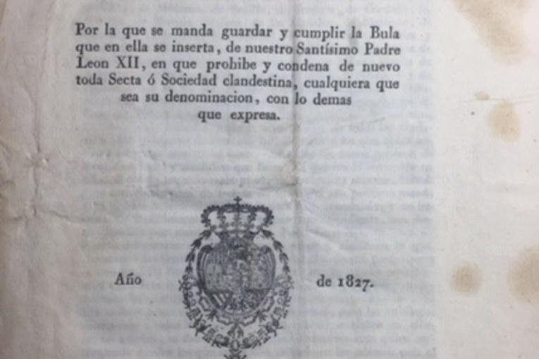 En Isla Cristina se Prohibieron las Sociedades Secretas en el Siglo XIX
