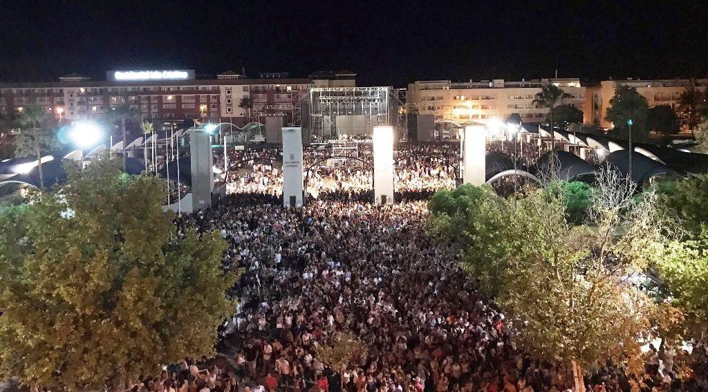 El ayuntamiento de Isla Cristina hace balance positivo tras los conciertos del pasado fin de semana