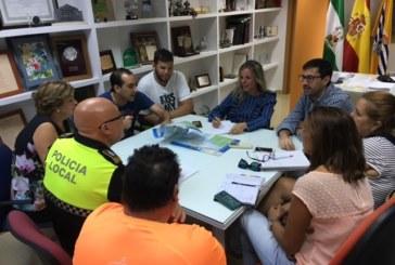 Celebrada en Isla Cristina la Junta Local de Seguridad para las Fiestas de la Virgen del Mar