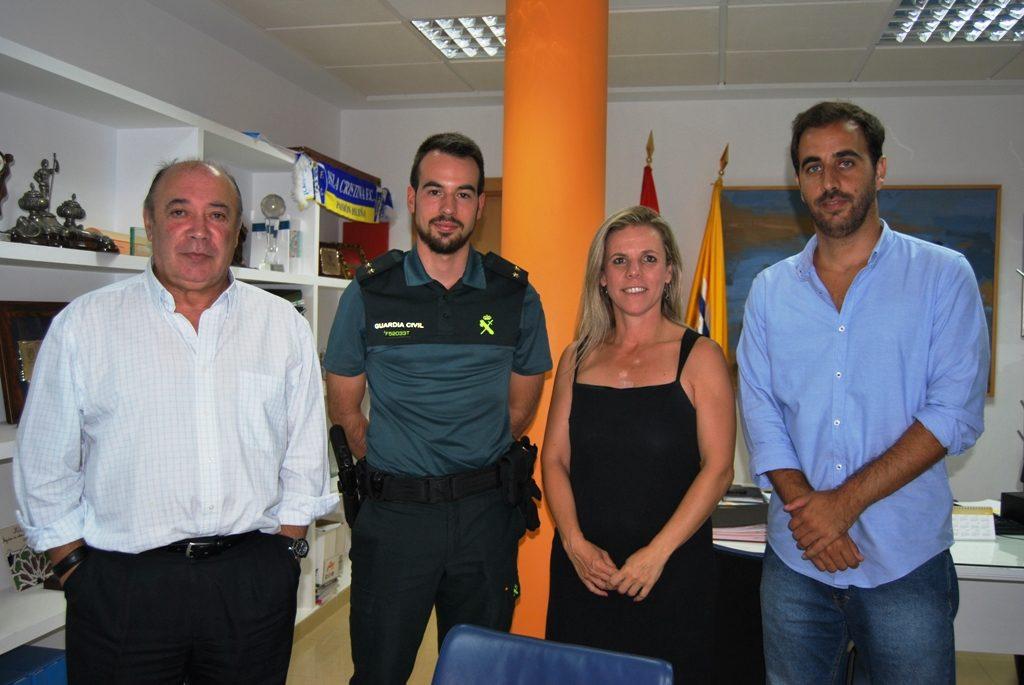 Toma posesión el nuevo Teniente de la Guardia Civil en Isla Cristina