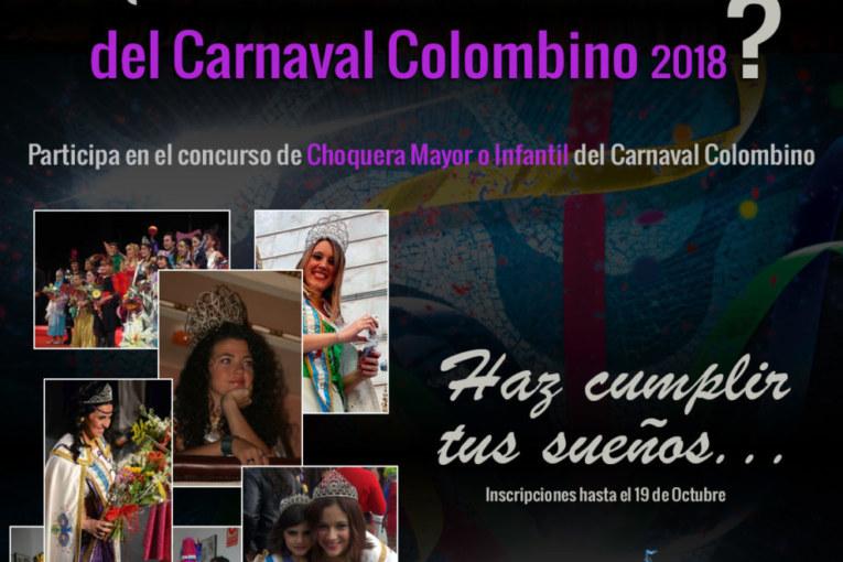 Presentadas las bases para aspirantes a Damas y Choqueras del Carnaval Colombino 2018