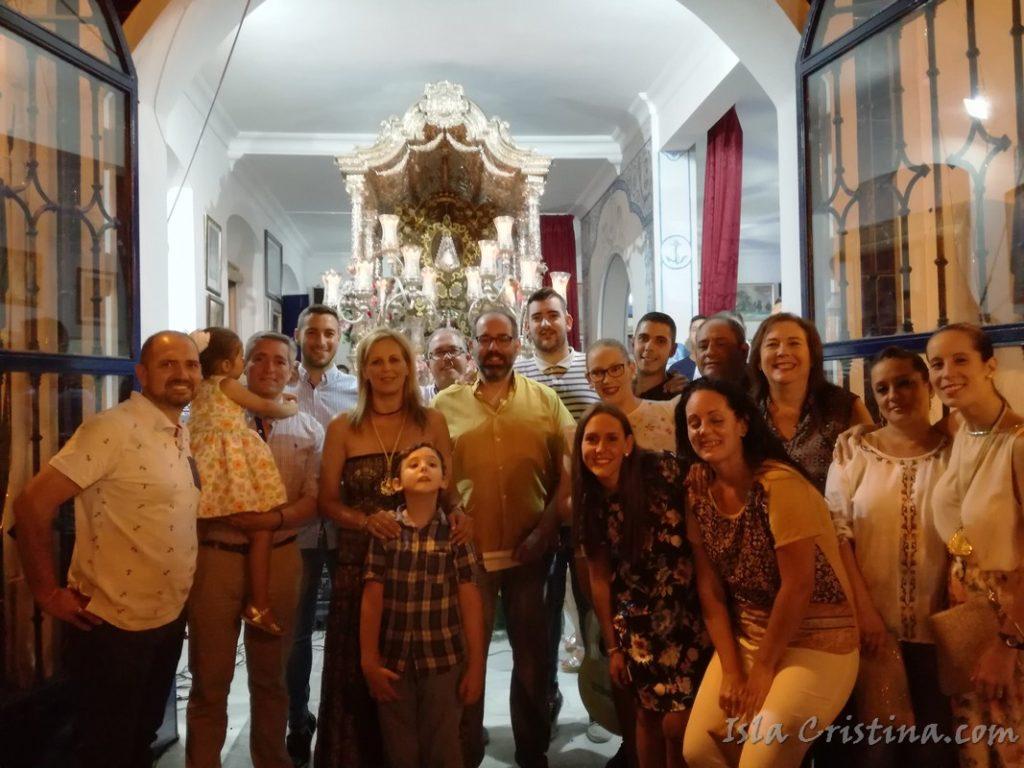 La Familia consiguió llegar al alma en la Salve de Isla Cristina