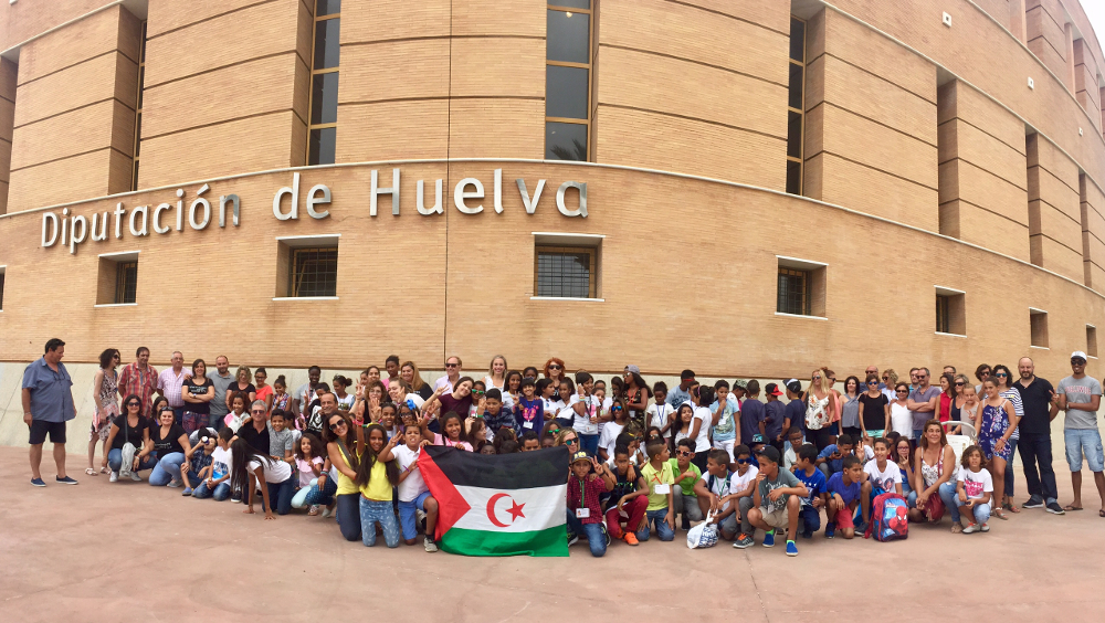 Los niños y niñas saharauis regresan a los campamentos de refugiados tras sus Vacaciones en la provincia
