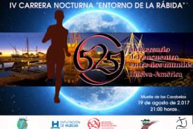 La Carrera Nocturna Entorno de La Rábida se celebra el sábado