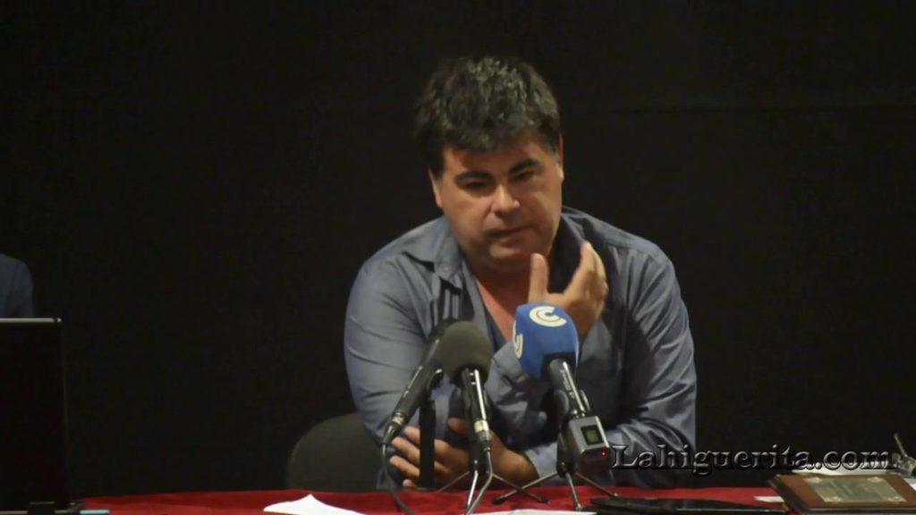 Antonio J. Cárdenas Rojas pregonero del Carnaval de Isla Cristina 2018