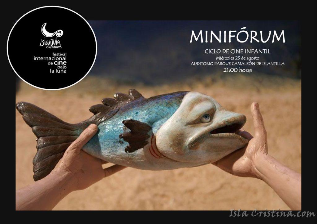 El Festival de Islantilla proyecta mañana su Ciclo Infantil Miniforum en el nuevo Auditorio al Aire libre del Parque 'El Camaleón'