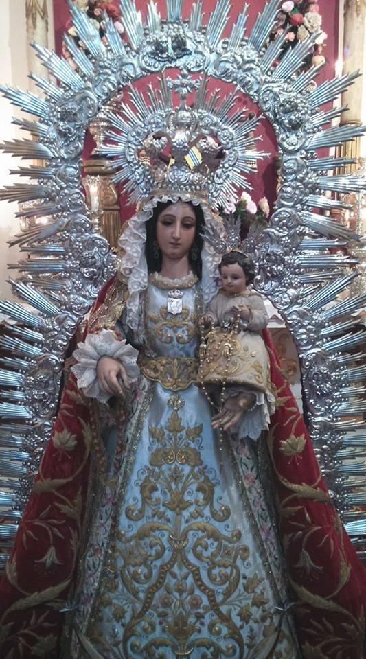 Besamanos De Ntra Sra Del Rosario Patrona de Isla Cristina