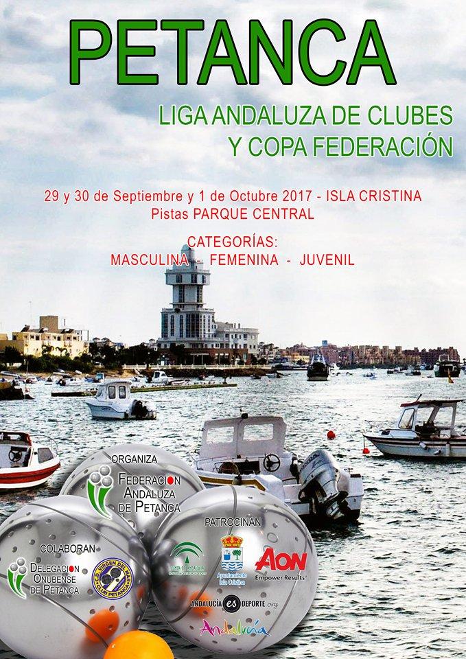 Isla Cristina acoge este fin de semana la Liga Andaluza y Copa Federación de Petanca
