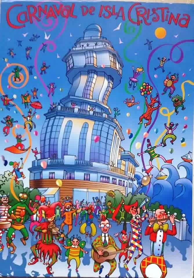 Presentación Cartel del Carnaval de Isla Cristina 2018
