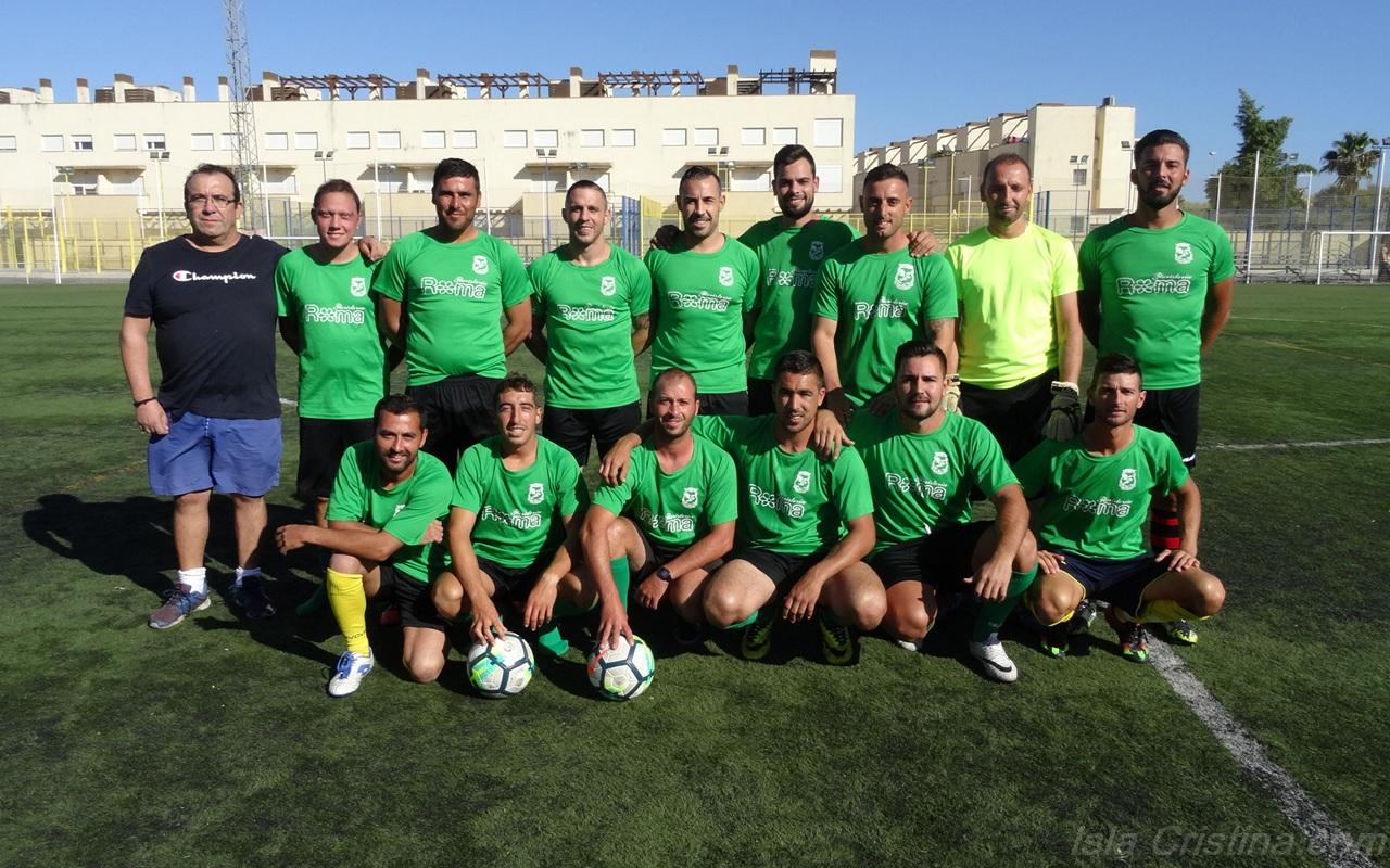 El equipo isleño «Bar Paremio» líder de la liga Laboral Provincial de Huelva