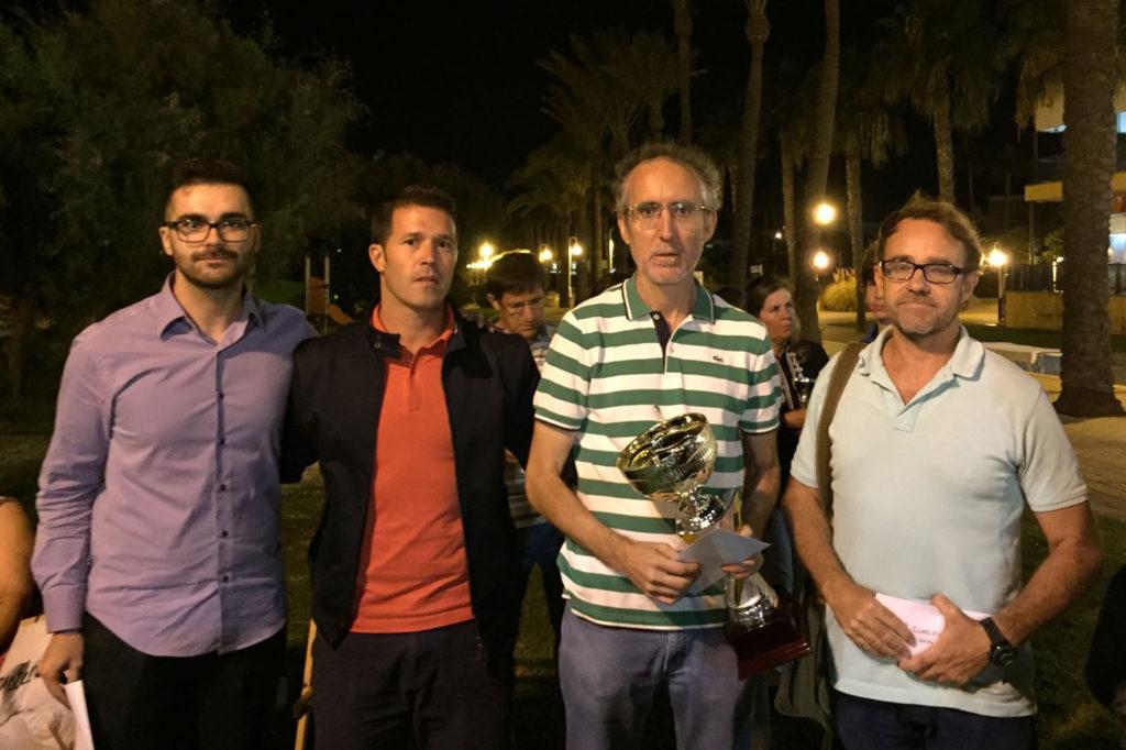 Carlos López ganador del II Abierto Nocturno de Ajedrez 'Mancomunidad de Islantilla'