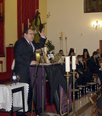 Exaltación a Nuestras Señora la Virgen del Rosario a cargo de Jerónimo Sosa Sosa