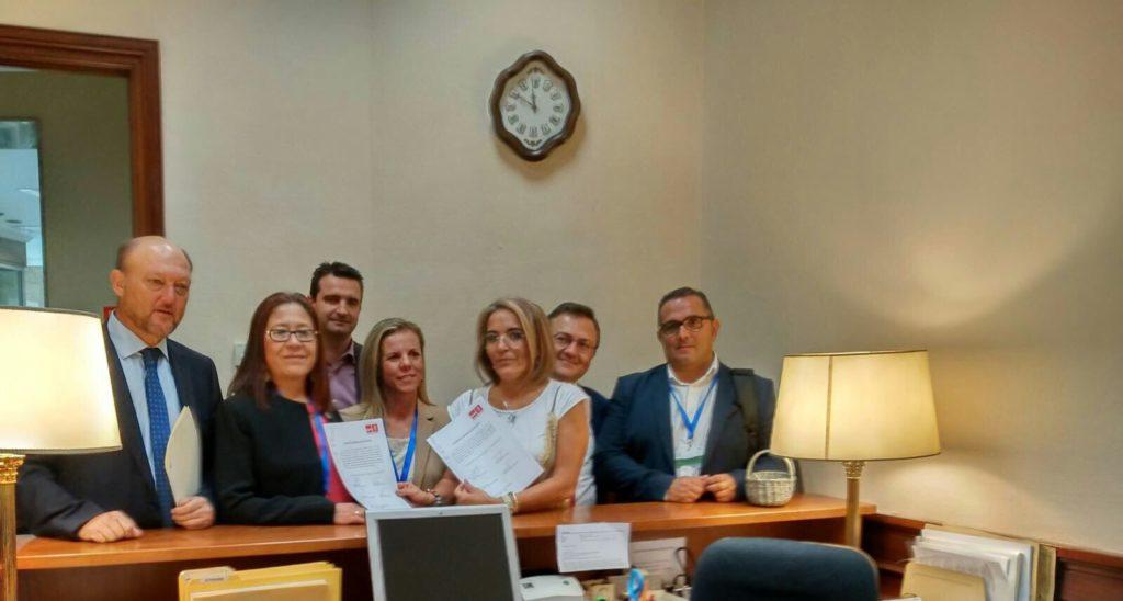 El Ayuntamiento de Isla Cristina muestra su apoyo al sector pesquero