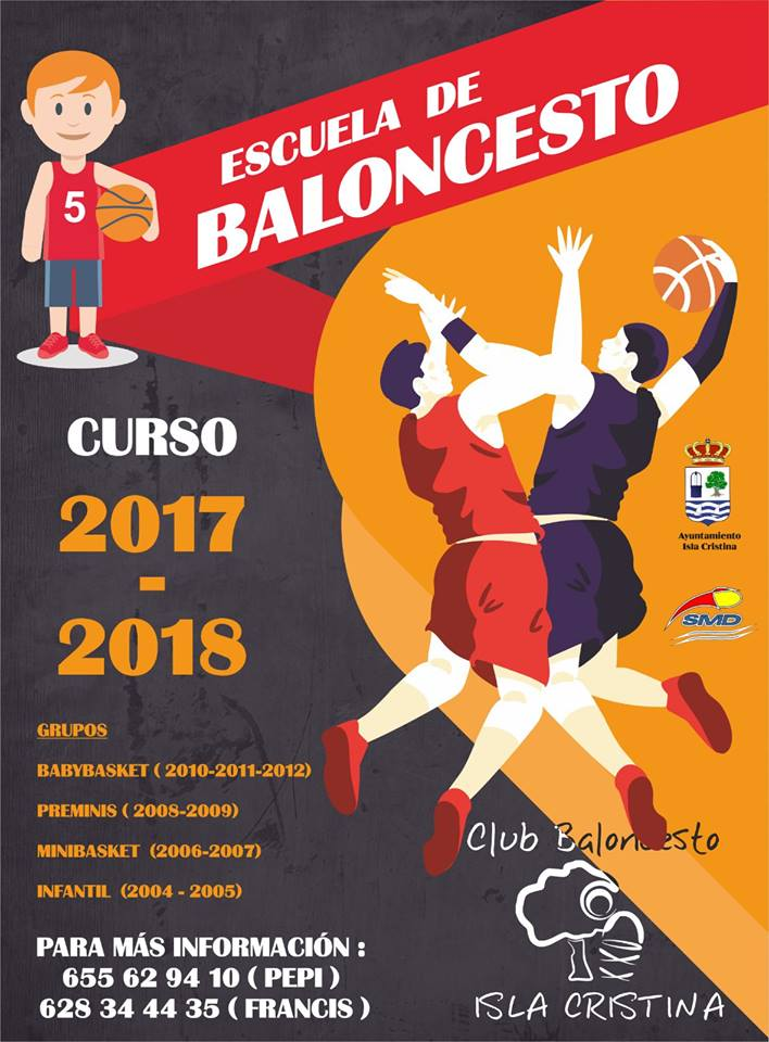 Este martes se abre el plazo de inscripciones del Club Baloncesto Isla Cristina