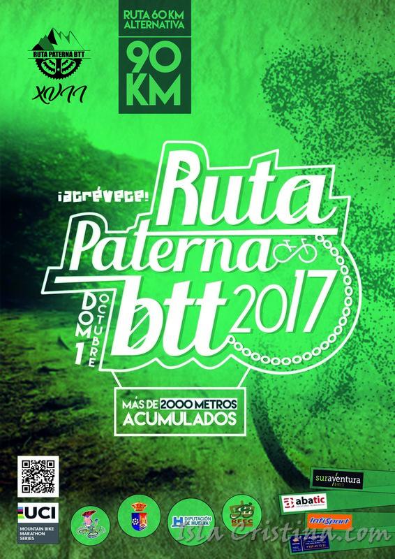 El Ciclismo isleño en la décimo séptima edición de la ruta ciclista BTT Villa de Paterna.