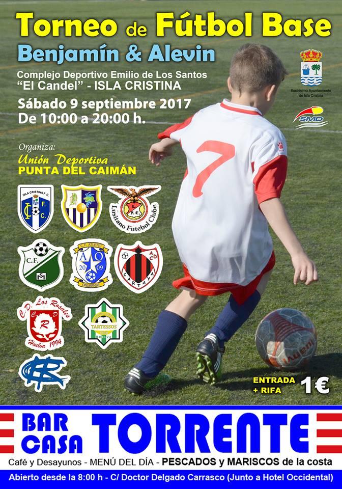 Isla Cristina acoge este sábado el Torneo de Fútbol Base «UD Punta del Caimán»