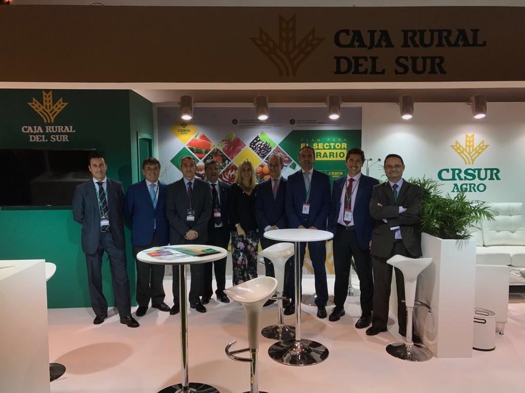 El presidente de Caja Rural del Sur valora en Fruit  Attraction el dinamismo y profesionalización del sector