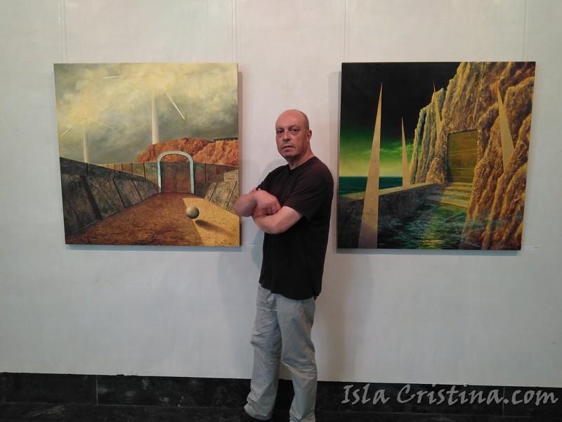 Faustino Rodríguez muestra desde este lunes en Huelva su obra pictórica