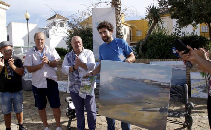 Fran Cabeza Gómez y Valeria Gómez Rodríguez Primeros Premios del Concurso de Pintura de Islantilla