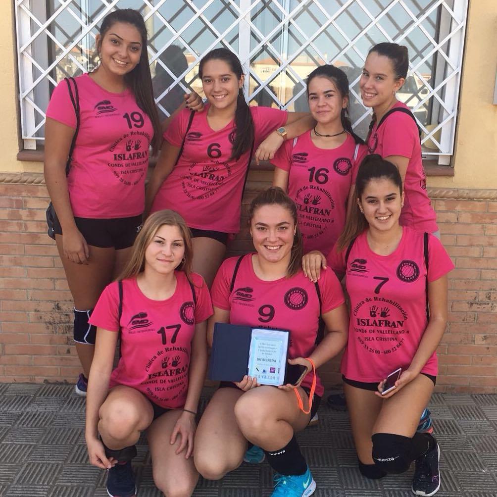 Comienzan las competiciones oficiales para el Club Voleibol Isla Cristina Vic