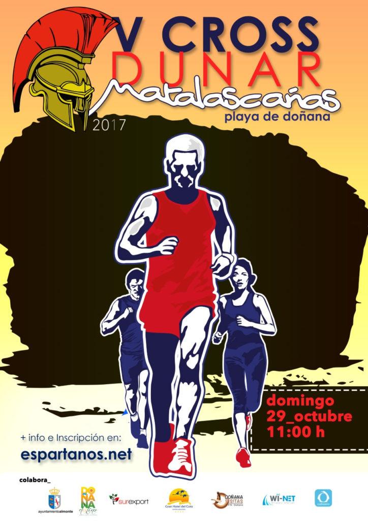 Matalascañas celebra el VI Cross Dunar Playas de Doñana