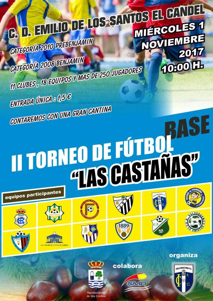 """Isla Cristina se prepara para acoger el II Torneo de fútbol Base """"Las Castañas"""""""