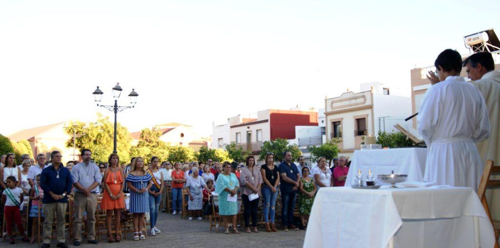 Celebrada una misa en honor a San Francisco de Asís en Isla Cristina