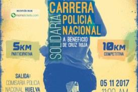 Huelva celebra la I Carrera Solidaria Policía Nacional