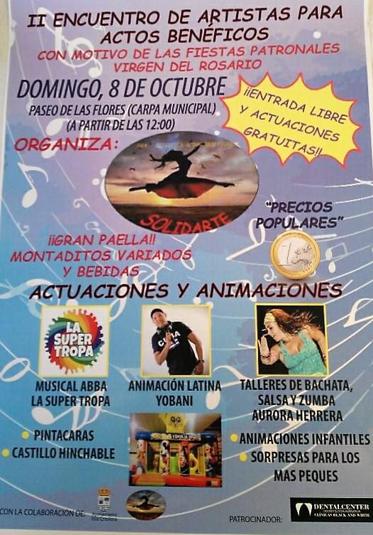 Isla Cristina Acoge el II Encuentro de Artistas para Actos Benéficos