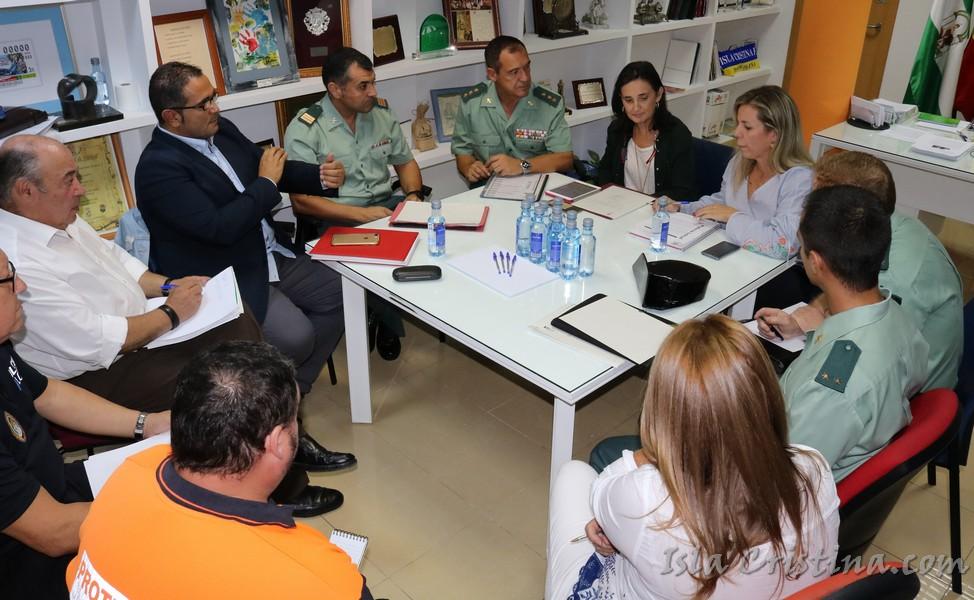 Isla Cristina celebra la junta local de seguridad con vista a los Tosantos