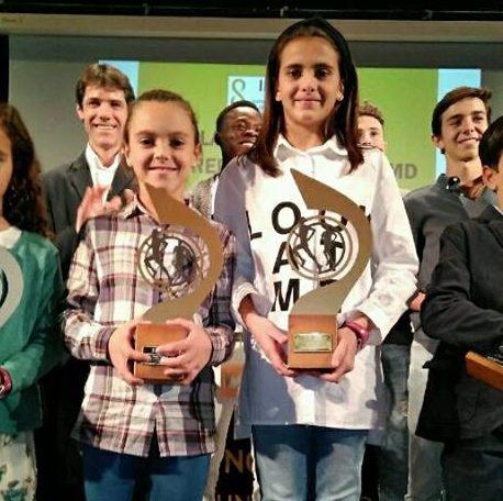 Manuela Camacho y Julia Camacho campeonas del Circuito Sevilla10