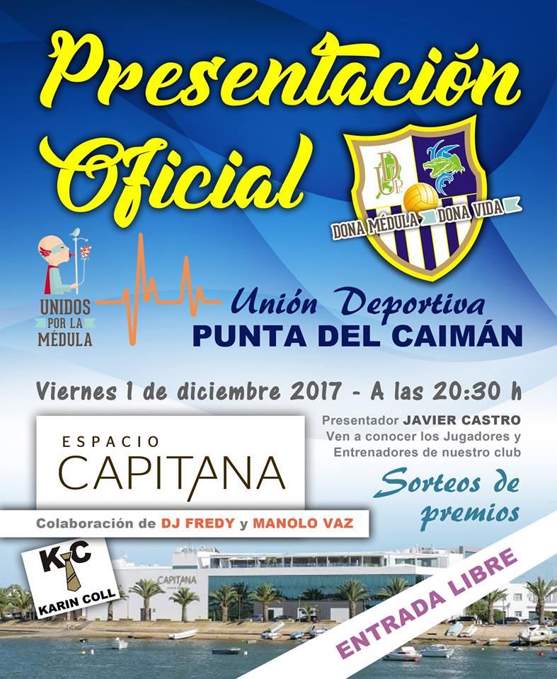 Presentación Oficial en Isla Cristina de los equipos de la UD Punta del Caimán