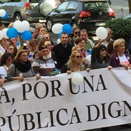 """""""No queremos migajas, la sanidad en Huelva requiere soluciones en condiciones"""""""