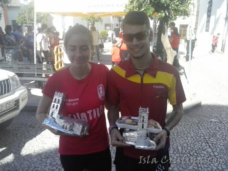 Moisés Antonete y Miriam Gómez ganan el Cross Subida a la Mezquita