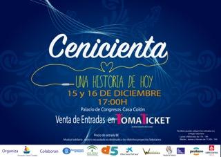 La Cenicienta' un Musical de la Asociación Carabela se Estrena en Huelva Capital