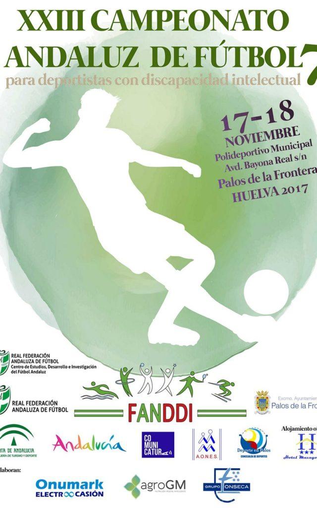 Huelva Acoge esta Semana el XXIII Torneo Andaluz de Fútbol 7 para Deportistas con Discapacidad Intelectual
