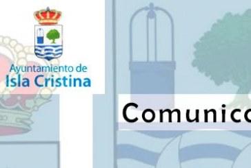 Comunicado Oficial sobre el Incidente sufrido por un Policía Local de Isla Cristina
