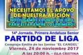 El Derbi costero entre el Punta del Caimán vs Camping Playa La Bota, se juega este viernes