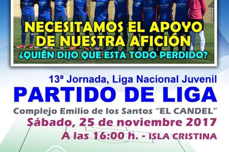 Partidazo de juveniles en Isla Cristina entre el Punta del Caimán vs Sevilla