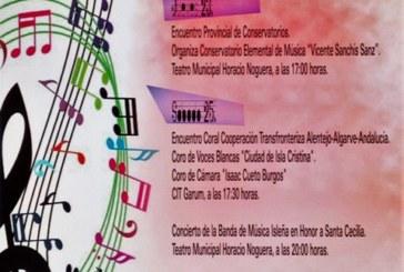 """Programación del """"XI Encuentro con la Música"""" a celebrar en Isla Cristina"""