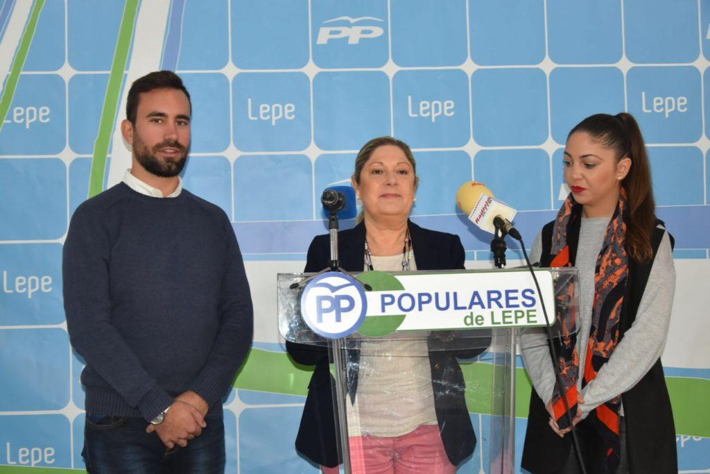 La vicepresidenta del PP de Lepe presenta el próximo Congreso Local del Partido Popular