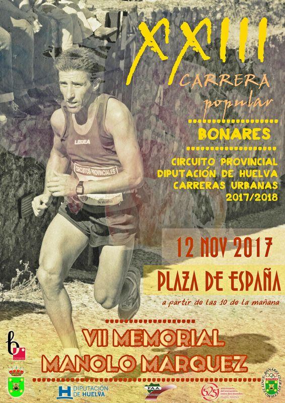 XXIII Carrera Popular de Bonares 'VI Memorial Manolo Marquez'