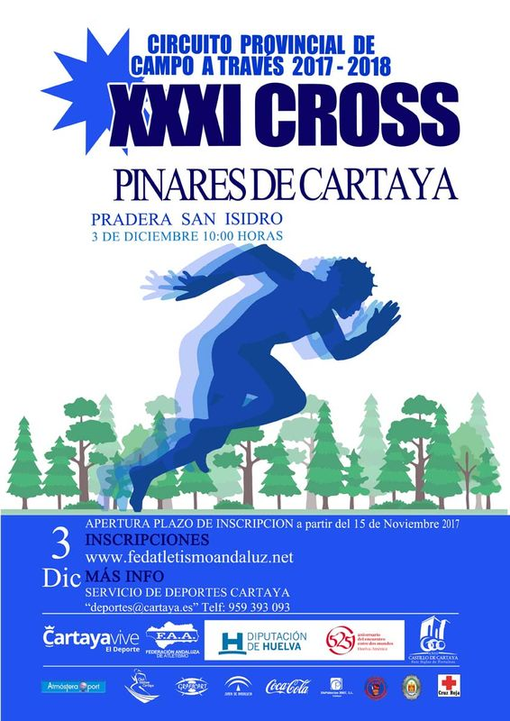 XXXI Cross Pinares de Cartaya