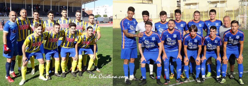 Nota sobresaliente para el Isla Cristina FC y la UD Punta del Caimán