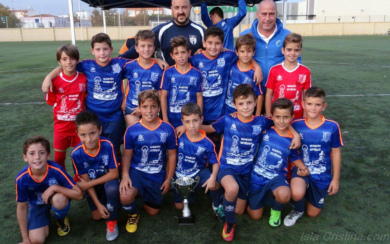 """El Punta del Caimán y San Pablo, Campeones del II Torneo """"Las Castañas"""" Celebrado en Isla Cristina"""
